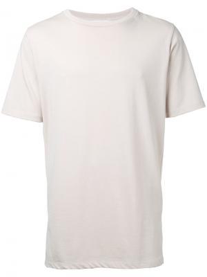 Текстурированная футболка monkey time. Цвет: телесный