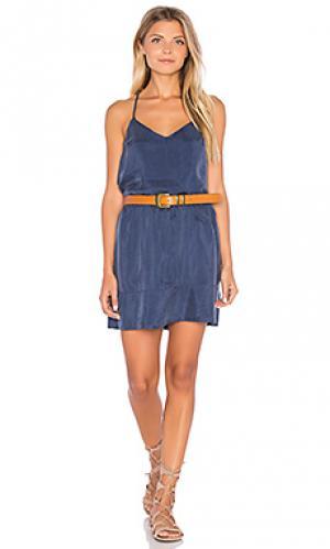 Мини платье meadow American Vintage. Цвет: синий