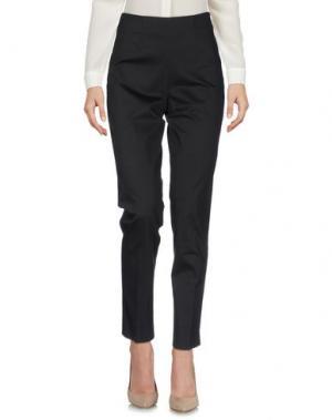 Повседневные брюки BREBIS NOIR. Цвет: темно-коричневый