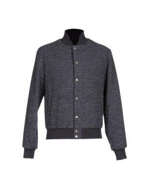 Куртка LUIGI BORRELLI NAPOLI. Цвет: грифельно-синий