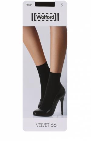 Капроновые носки Wolford. Цвет: коричневый