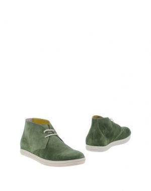 Полусапоги и высокие ботинки GUARDIANI DRIVE. Цвет: зеленый-милитари