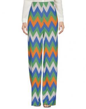Повседневные брюки VAPOFORNO MILANO. Цвет: зеленый