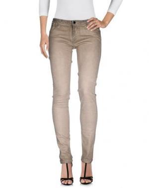 Джинсовые брюки AARCC. Цвет: светло-серый