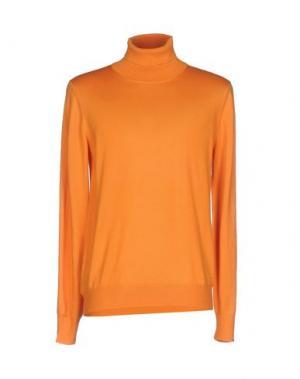 Водолазки VENGERA. Цвет: оранжевый