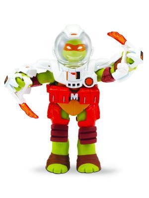 Черепашки-ниндзя 10-12 см Микеланджело, Измерение Х Playmates toys. Цвет: оранжевый