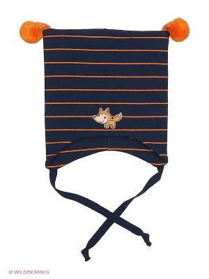Шапка Kivat. Цвет: темно-синий, оранжевый