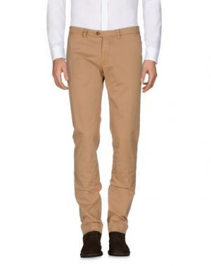 Повседневные брюки B SETTECENTO. Цвет: коричневый