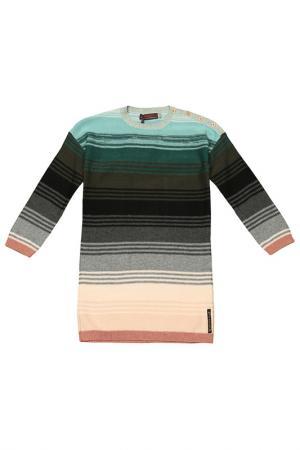 Платье Catimini. Цвет: серо-коричневый