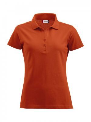 Clique Alba женская футболка-поло. Цвет: рыжий