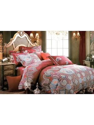 Комплект постельного белья, 1,5 спальный Sofi de Marko. Цвет: красный