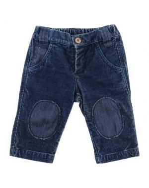 Повседневные брюки LES PARROTINES. Цвет: темно-синий