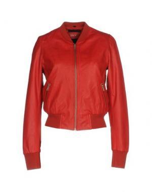 Куртка FREAKY NATION. Цвет: красный
