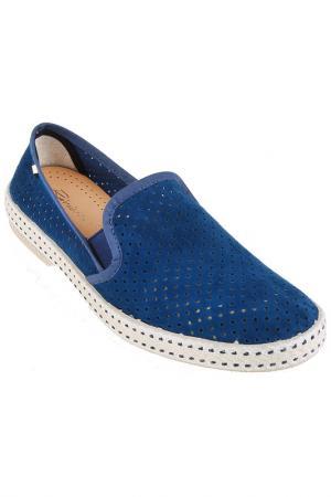 Туфли RIVIERAS. Цвет: blue