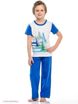 Пижама Vis-a-vis. Цвет: синий, белый