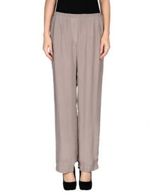 Повседневные брюки ES'GIVIEN. Цвет: голубиный серый