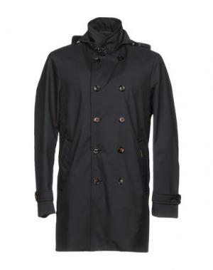 Легкое пальто MOORER. Цвет: темно-синий