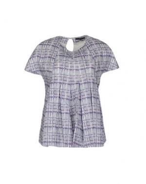 Блузка DAKS LONDON. Цвет: светло-серый