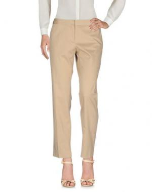 Повседневные брюки PAOLONI. Цвет: песочный