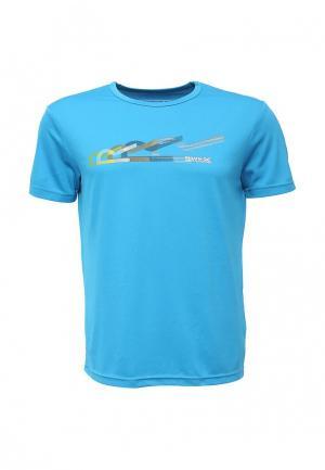 Футболка Regatta. Цвет: голубой