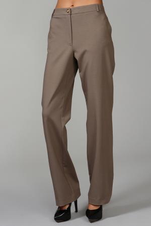 Расклешённые брюки с застежкой на молнию CLASS ROBERTO CAVALLI. Цвет: коричневый