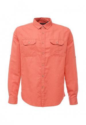 Рубашка Top Secret. Цвет: коралловый