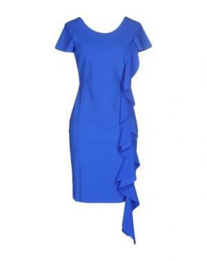 Короткое платье CHARLOTT. Цвет: ярко-синий