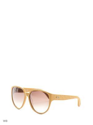 Солнцезащитные очки TO 0087 39F Tod's. Цвет: желтый