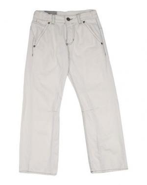 Джинсовые брюки IMPS&ELFS. Цвет: белый