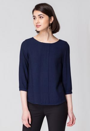 Блуза Vilatte. Цвет: синий