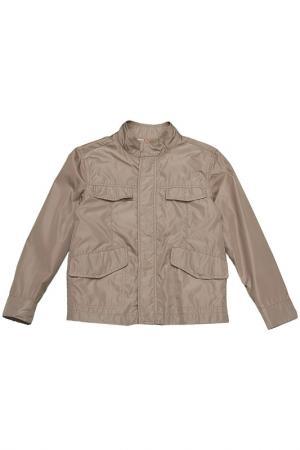 Куртка ASTON MARTIN. Цвет: шоколадный