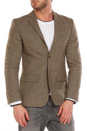 Пиджак VICTORS MART VICTOR'S. Цвет: коричневый