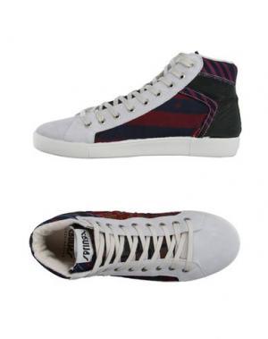 Высокие кеды и кроссовки SPRINGA. Цвет: светло-серый