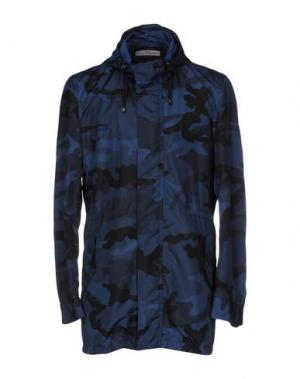 Легкое пальто GREY DANIELE ALESSANDRINI. Цвет: грифельно-синий