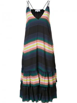 Платье Canyons Apiece Apart. Цвет: многоцветный