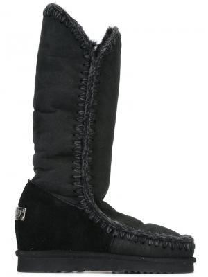 Зимние ботинки Int Eskimo Mou. Цвет: чёрный