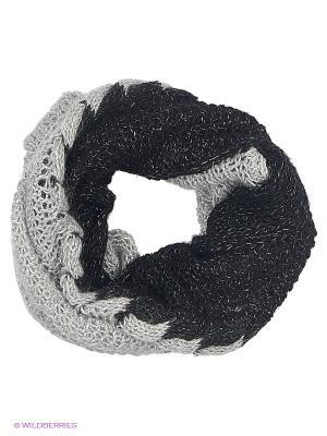 Снуд SNEZHNA. Цвет: черный, серый