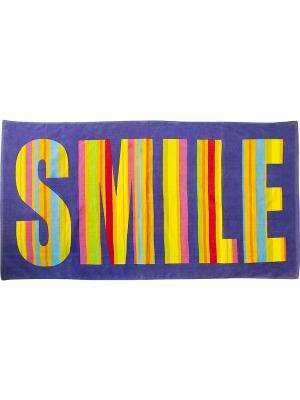 Полотенце BONITA. Цвет: фиолетовый, розовый, желтый, голубой