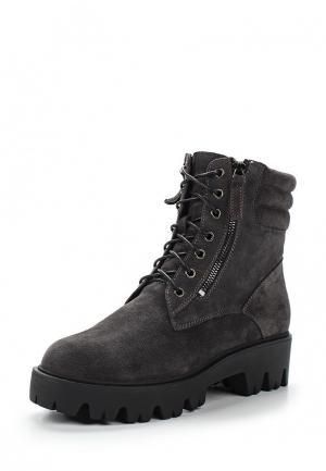 Ботинки Sparkling. Цвет: серый