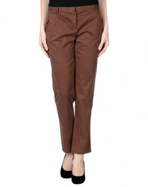 Повседневные брюки ..,MERCI. Цвет: какао