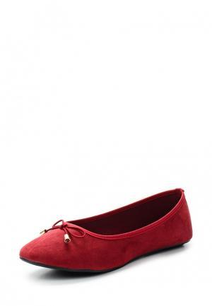 Балетки Topway. Цвет: бордовый