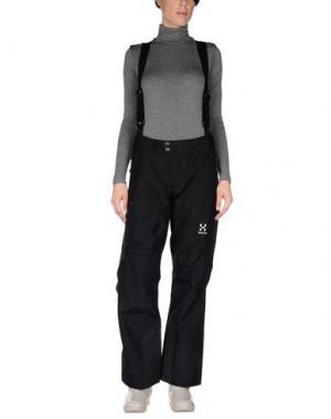 Лыжные брюки HAGLÖFS. Цвет: черный