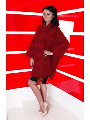 Пальто SHE'SSO. Цвет: красный