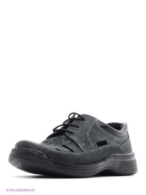 Ботинки San Marko. Цвет: темно-серый