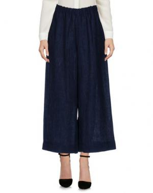 Повседневные брюки MASSCOB. Цвет: темно-синий