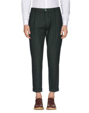 Повседневные брюки MANUEL RITZ. Цвет: темно-зеленый