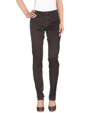Повседневные брюки HEAVEN TWO. Цвет: темно-коричневый