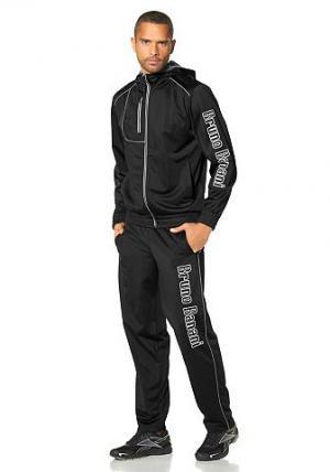Спортивный костюм BRUNO BANANI. Цвет: черный