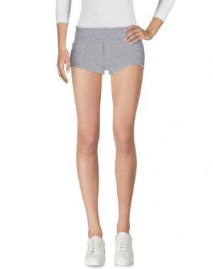 Повседневные шорты TEE-TREND. Цвет: серый