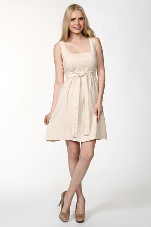Платье Sanbal. Цвет: бежевый
